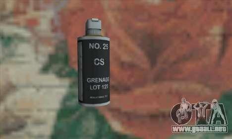 Gas grenade para GTA San Andreas