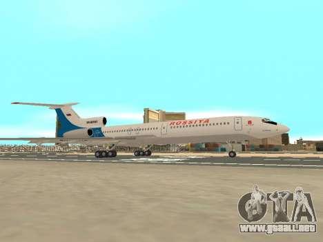 Tu-154 B-2 SCC de Rusia para visión interna GTA San Andreas
