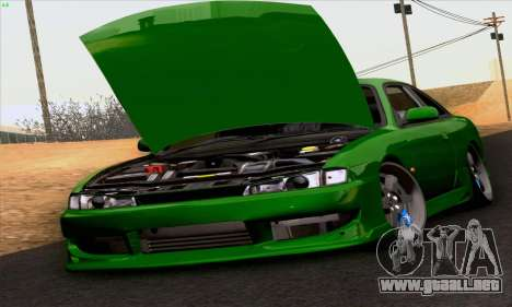 Nissan Silvia S14 Stance para la visión correcta GTA San Andreas