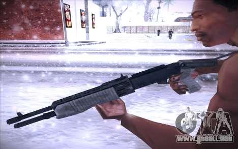 Spas 12 para GTA San Andreas tercera pantalla
