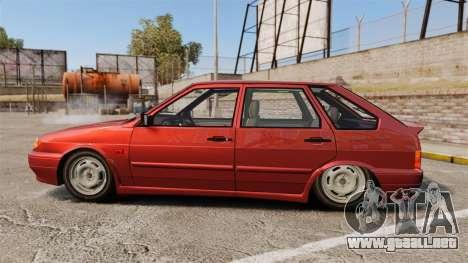 VAZ-2114 Samara-2 para GTA 4 left