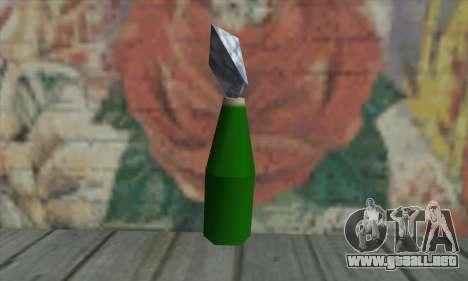 Cóctel Molotov para GTA San Andreas segunda pantalla