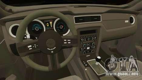 Ford Mustang 2015 Rocket Bunny TKF v2.0 para GTA 4 vista interior