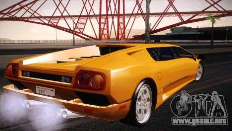 Lamborghini Diablo Stretch para GTA San Andreas left