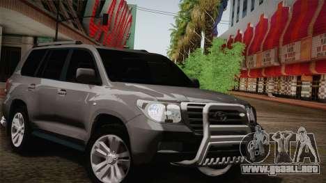 Toyota Land Cruiser 200 para el motor de GTA San Andreas