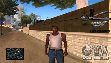 C-HUD Russian Mafia by Luigie para GTA San Andreas
