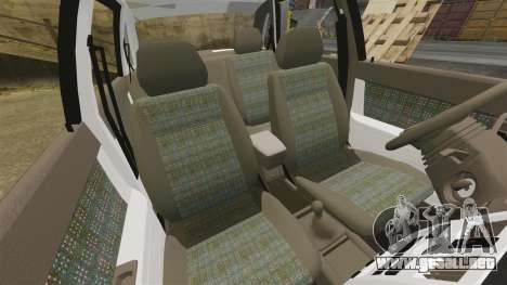 ВАЗ-2170 Instalado Antes para GTA 4 vista desde abajo