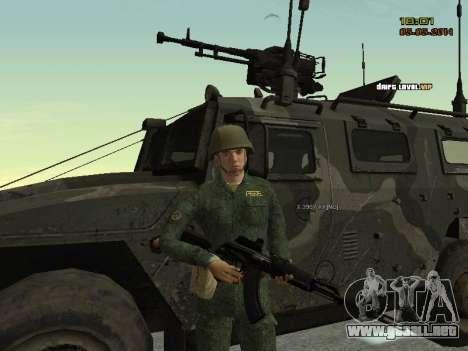 El ejército ruso moderno para GTA San Andreas séptima pantalla