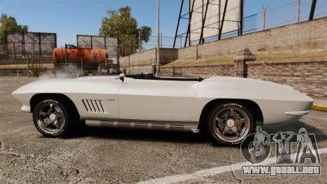 Chevrolet Corvette Stingray para GTA 4 left