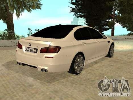 BMW M5 F10 V2.0 para GTA San Andreas left