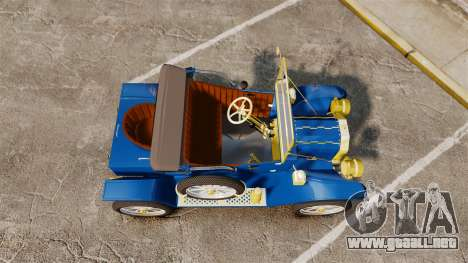 Ford Model T 1912 para GTA 4 visión correcta