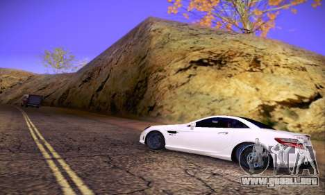 Mercedes Benz SLK55 AMG 2011 para GTA San Andreas interior
