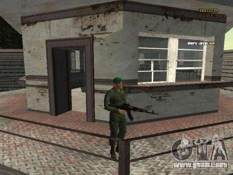El ejército ruso moderno para GTA San Andreas