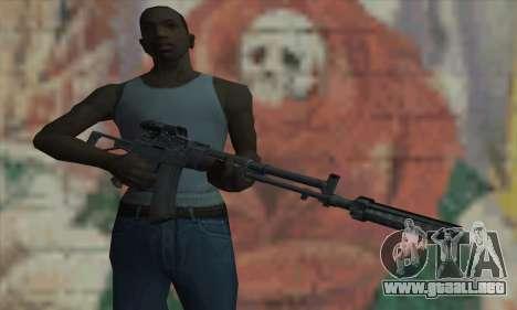Aek-971 para GTA San Andreas tercera pantalla