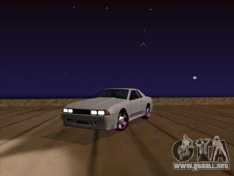 Elegy by MegaPixel para GTA San Andreas vista hacia atrás