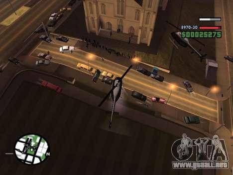 SA-MP 0.3z para GTA San Andreas sexta pantalla