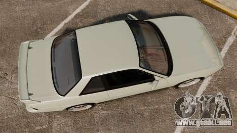 Nissan Onevia S13 [EPM] para GTA 4 visión correcta