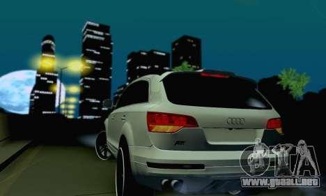 Audi Q7 para vista lateral GTA San Andreas