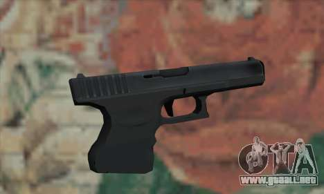 El arma de L4D para GTA San Andreas segunda pantalla