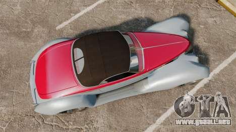 Ford Roadster 1936 Chip Foose 2006 para GTA 4 visión correcta