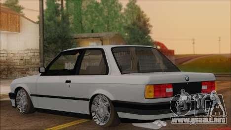BMW M5 E30 para GTA San Andreas left