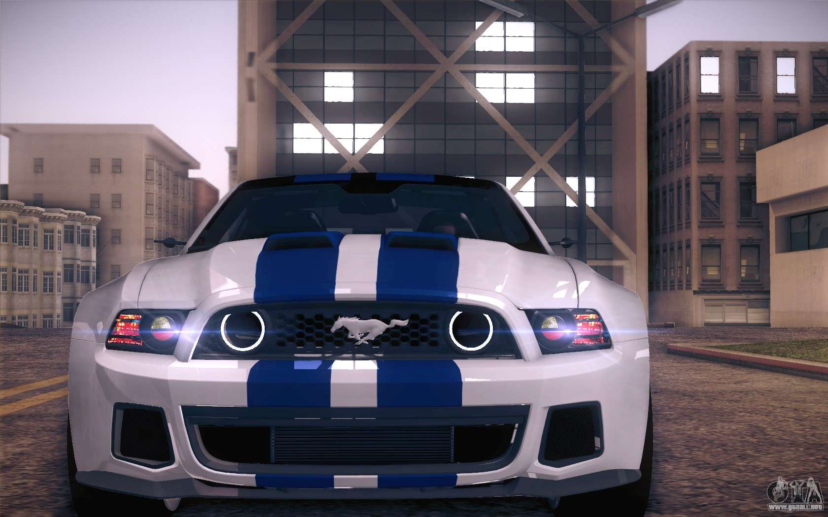 Ford Mustang 2013 - Need For Speed Movie Edition para GTA