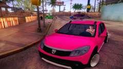 Dacia Sandero para GTA San Andreas