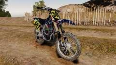 Kawasaki KX250F USA para GTA 4