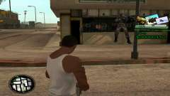 C-HUD Army Troops para GTA San Andreas