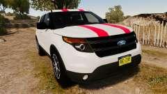 Ford Explorer Sport 2014 para GTA 4