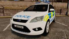 Ford Focus Estate Essex Police [ELS] para GTA 4