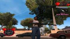 C-HUD Ministry Of Health para GTA San Andreas