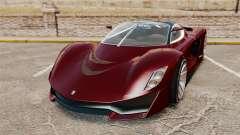 GTA V Grotti Turismo R v2.0 para GTA 4