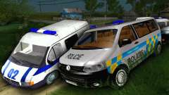Volkswagen Transporter Policie para GTA San Andreas