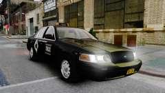 Ford Crown Victoria Cab para GTA 4