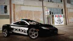 McLaren MP4-12C Police Car para GTA San Andreas