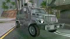 MRAP Mèxico Marina para GTA San Andreas