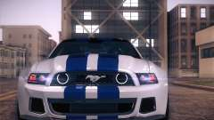 Ford Mustang 2013 - Need For Speed Movie Edition para GTA San Andreas