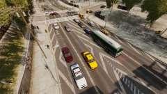 El tráfico real para GTA 4