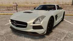 Mercedes-Benz SLS 2014 AMG Black Series