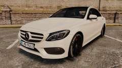 Mercedes-Benz C-Class (W205) AMG 2014 para GTA 4