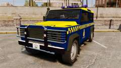 Land Rover Defender HM Coastguard [ELS] para GTA 4