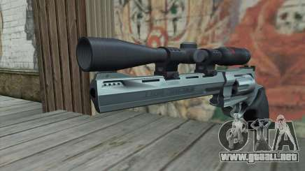 44.M Raging Bull with Scope para GTA San Andreas