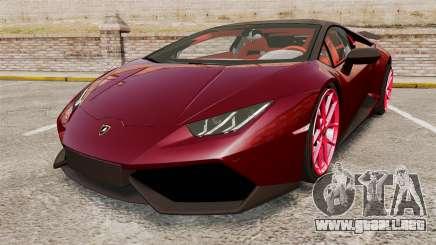 Lamborghini Huracan 2014 Oakley Tuning para GTA 4