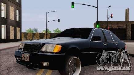 Mercedes-Benz S500 w140 para GTA San Andreas