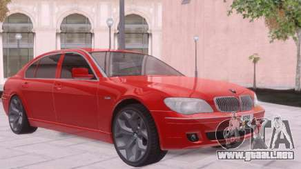 BMW 750Li E66 para GTA San Andreas