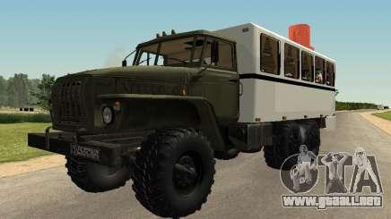 Ural 32551-0011 Reloj para GTA San Andreas