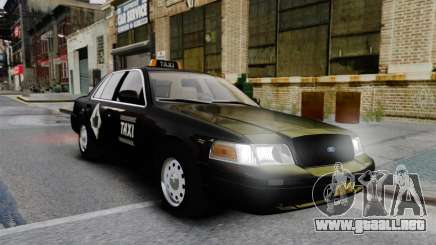 Ford Crown Victoria Cab para GTA 4