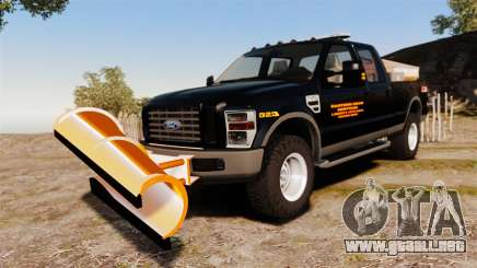 Ford F-250 Super Duty ESSL [ELS] para GTA 4