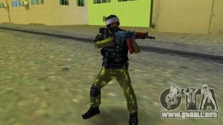 Soldado de las fuerzas especiales para GTA Vice City
